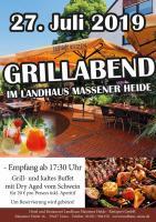Grillabend im Landhaus Massener Heide!