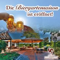 Genießen Sie den Sommer in unserem Biergarten!