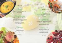 Feiertags-Tipp: Ostermenüs!