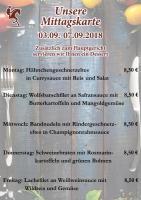Nächste Woche im Landhaus Massener Heide: